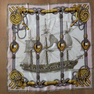 Hermes Tribord by Julia Abadie 90cm Scarf
